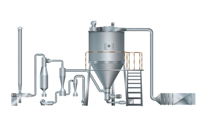 SED-ZPG Series Herbal Paste Coffee Spray Drying Machine for Pharmaceutical