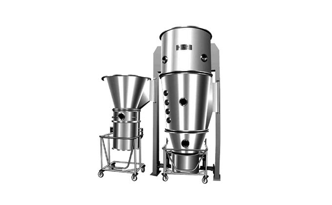 SED-GFB Series Vertical Fluid Bed Dryer Food Processing Machine