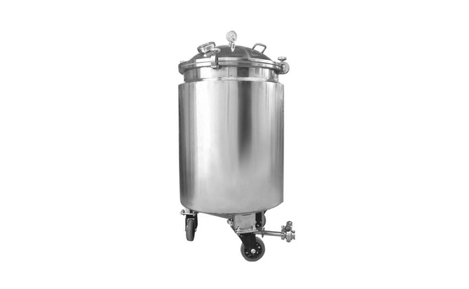 Industrial Stainless Steel Chemical Material Preparation Tank