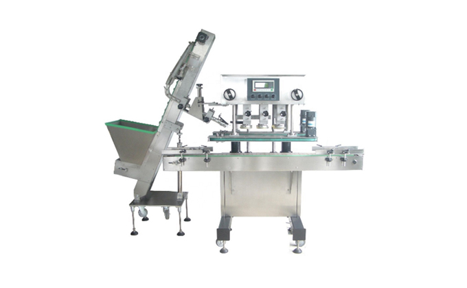 Automatic Oral Liquid Glass Bottle Capping Machine