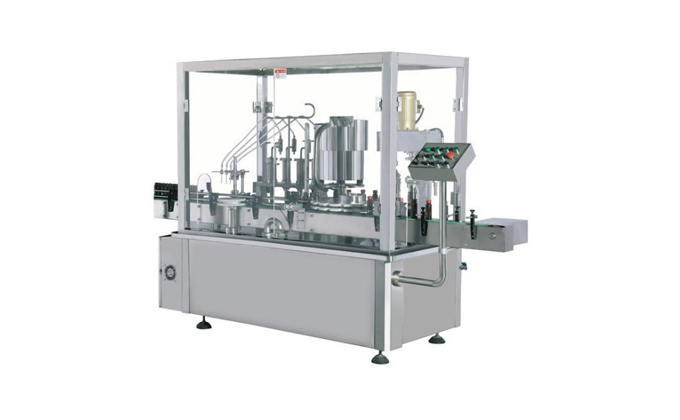 Eye Drop Filling Stoppering and Capping Machine