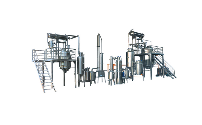 Extraction and Concentration Equipment line