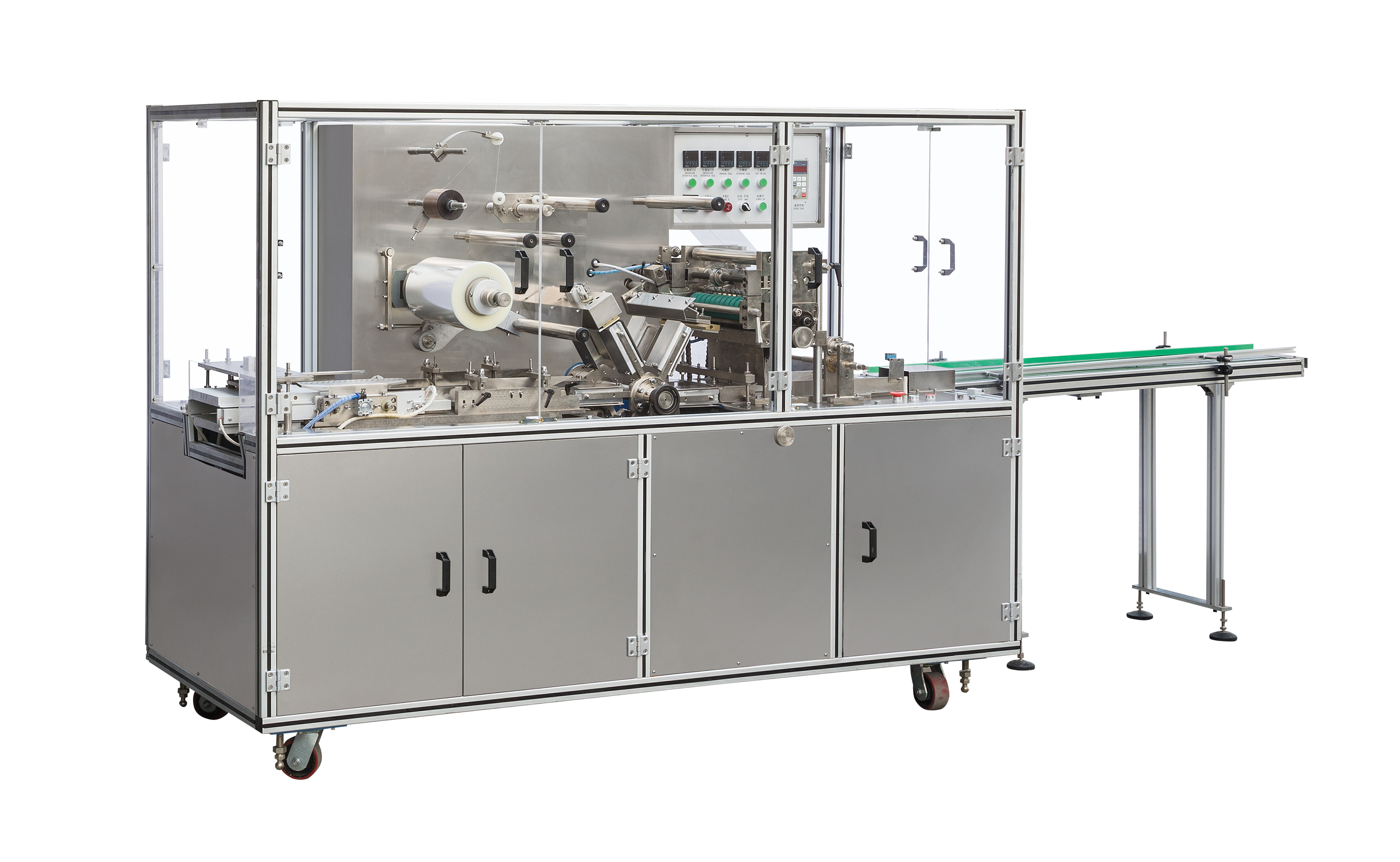Automatic Cellophane Overwrapping Machine for Carton Box