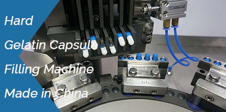 Hard Gelatin Capsule Filling Machine Made in China