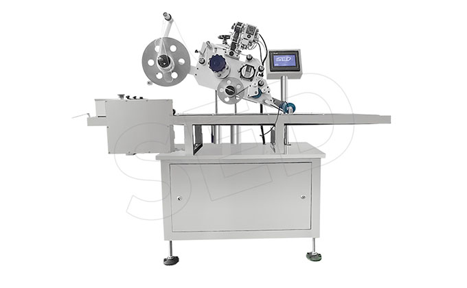 SED-PT Industrial Automatic Flat Labeling Machines For Boxes